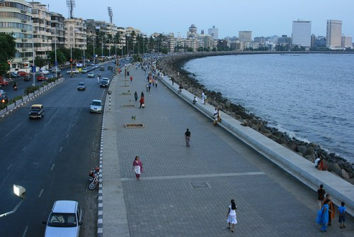 A walk on Marine Drive