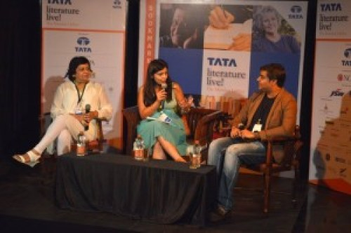 The panel- Neelam Kumar, Amrita Chaudhary and Amit Vaidya