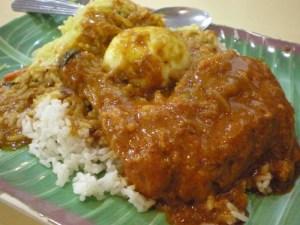 Nasi Kandar, Malaysian foods