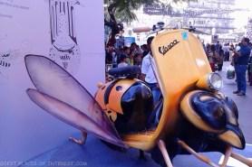 Lady bird scooter