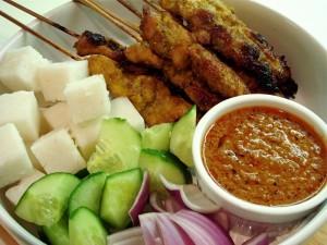 Malaysian Satay-Malaysian foods- Image courtesy-www.recipeshubs.com