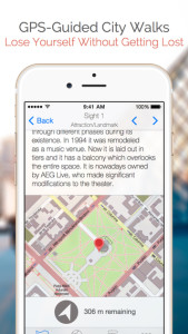 GPS Guided City walks apps