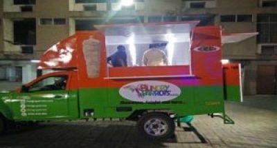 Food trucks in Hyderabad