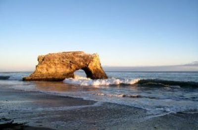 Californian beaches -Santacruz