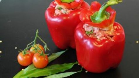 Stuffed peppers-stuffed vegetables