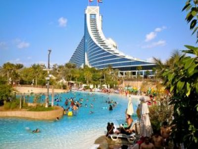 Fun things to do in Dubai- Wild Wadi water park