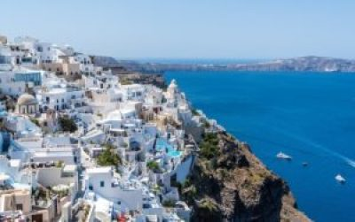 Greece, Santorini, Beach, The Sun- Surreal places to visit