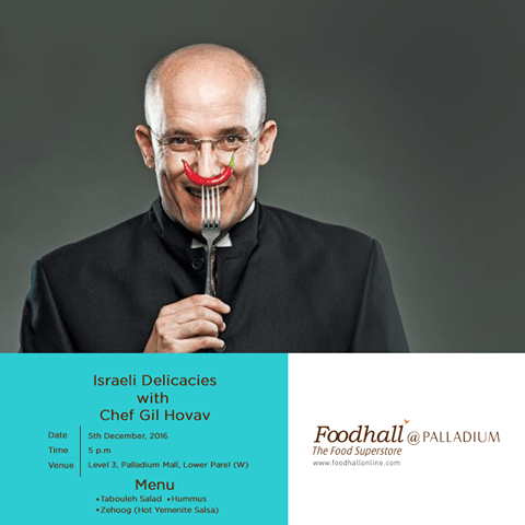 Masterclass with Chef Gil Hovav
