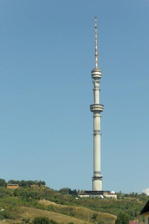 Almaty, Kazakhstan Kok TV tower
