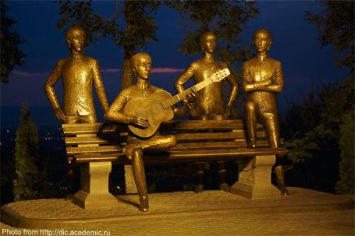 The Beatles at Almaty, Kazakhstan