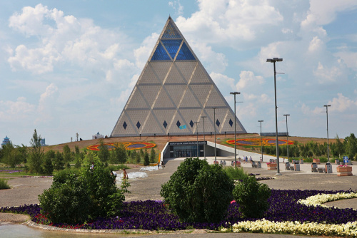 Palace of peace and reconciliation, Astana. Kazakhstan