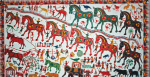 Tribal art in Gujarat- tribes and wilds in Gujarat