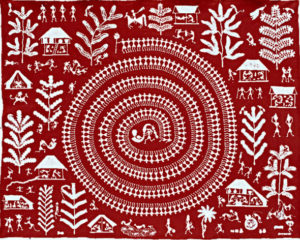 Tribal art- tribes and wilds in Gujarat