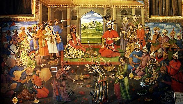 Shah Tahmasp and Humayun on Nowruz