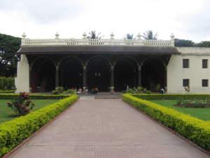 Tipu Sultan Palace, Bangalore, Bengaluru Main Entrance view