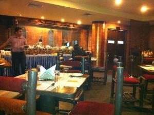 Nandhana Grand: The new attached restaurant, Bangalore, Bengaluru