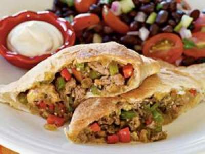 Tex Mex Calzone- Monsoon Special Snack-time recipes