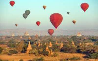 Hot Air balloons - Asia