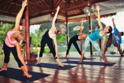 Yoga, fun retreat