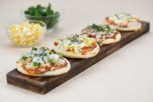 Mini pizzas, Diwali recipes