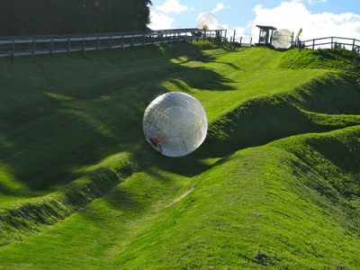 Zorbing- adventure activities in Australia