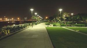 Sabarmati Riverfront gardens, Ahmedabad city