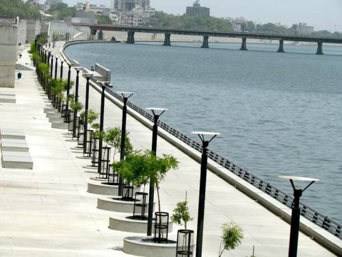 Ahmedabad city, Sabarmati Riverfront