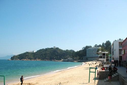 Tung Wan beach Hong Kong