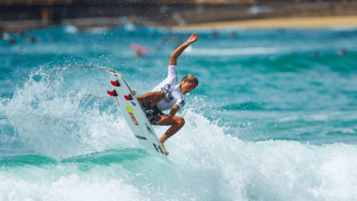 Surfing, adventure activities in Australia