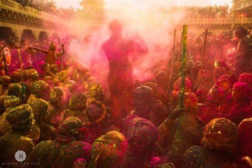 Holi celebrations, Nandgaon