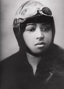 Bessie Coleman was the first female of African-American descent and the first of Native American descent, to hold a pilot license.