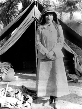 Gertrude Bell, a female explorer in Iraq