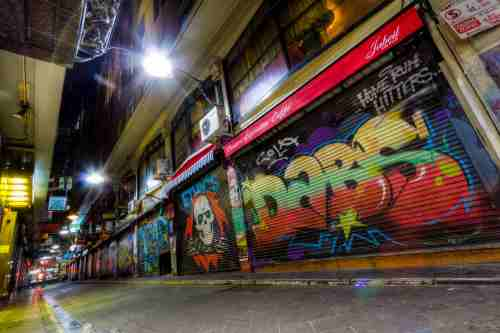 Flinders Art Lane - Flickr_Peter Novacco-min