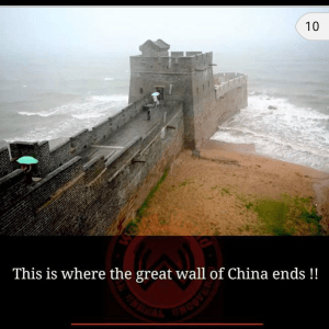 Great Wall of China, breathtaking places