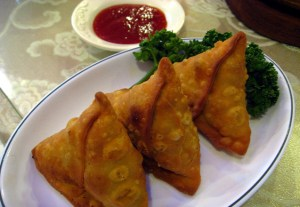 Samosa, Nepal street food