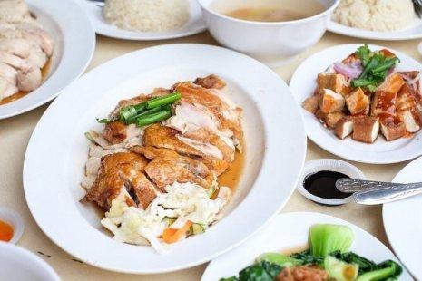 Chicken rice- Singapore street food