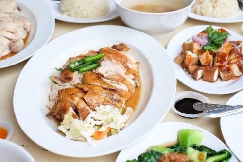 Chicken rice- Singapore street food