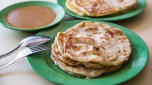 roti paratha, Singapore street food