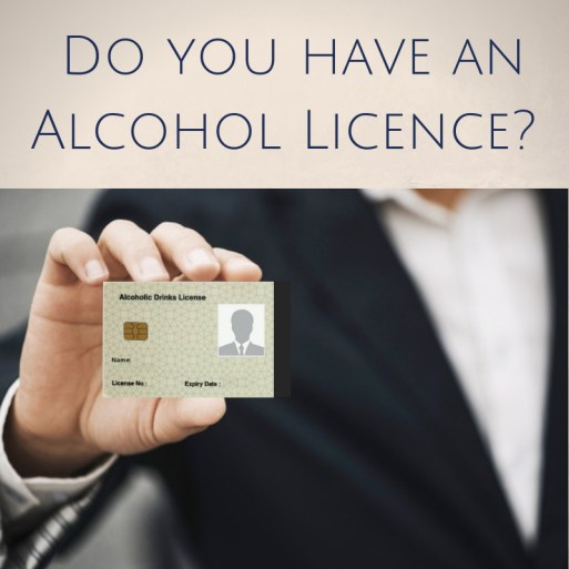 Alcohol license in Dubai