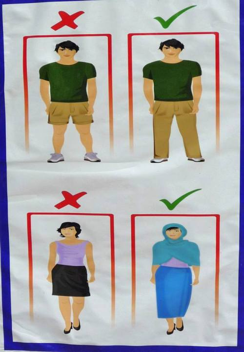 Dress Code For Dubai in religious places