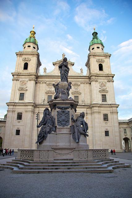 Mozart Platz Square, Salzburg
