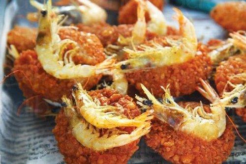 Prawn vadai isso- Sri Lanka street food