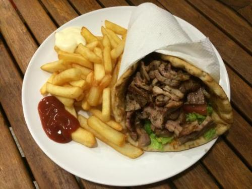 Kebab or grec street food France