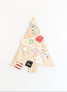 Wood Art Christmas Tree