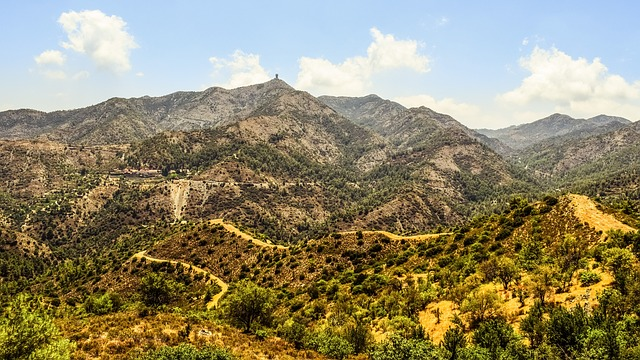 Cyprus Troodos Mountains Countryside landscape