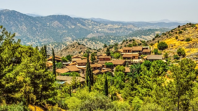 Cyprus, Fikardou, Village, Medieval IC:Pixabay