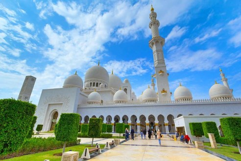 Sheikh Zayed Grand Mosque, UAE