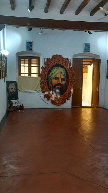 Bharathiyar House in Puducherry. He was staying there for 10 years