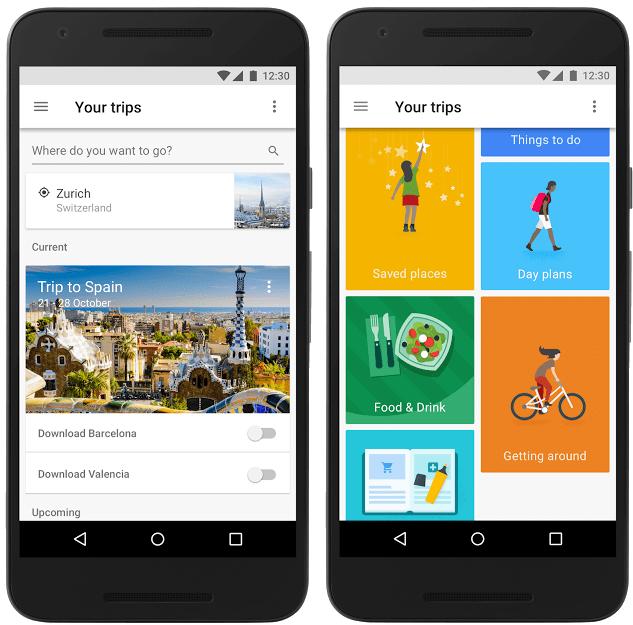 Itinerary generator, travel app