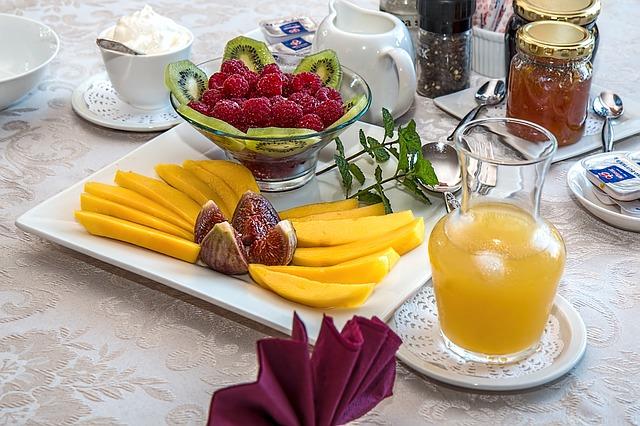 Breakfast: Eat like a king
